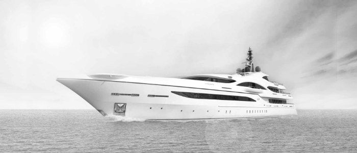 architecture of luxury yachts