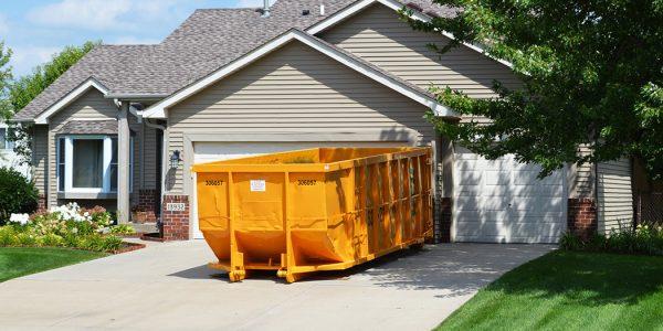 renting a dumpster in Hampton