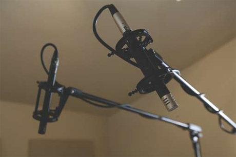 overhead microphones